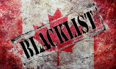 Канада попала в черный список стран