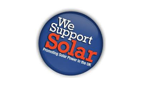"""We Support Solar"""